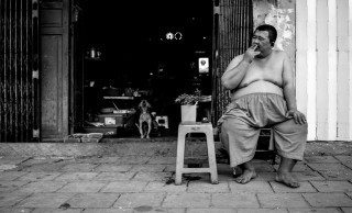 Mr Big by Graeme Heckels Saigon Street Photography, Vietnam