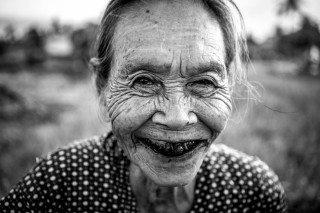 Black Teeth Portrait by Graeme Heckels Hoi An Travel Photography, Vietnam