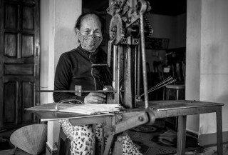 Incense Maker by Graeme Heckels Quy Nhon Travel Photography, Vietnam