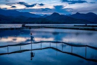 Blue Waters by Graeme Heckels Quy Nhon Travel Photography, Vietnam Sunset AVANI