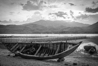 Boat by Graeme Heckels Quy Nhon Travel Photography, Vietnam