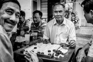 Games by Graeme Heckels Saigon Street Photography, Vietnam
