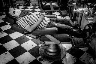 Man Spa by Graeme Heckels Saigon Street Photography, Vietnam