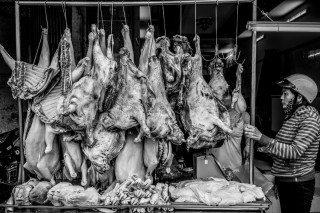 Meat by Graeme Heckels Saigon Street Photography, Vietnam