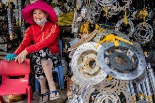 Sleep by Graeme Heckels Saigon Street Photography, Vietnam