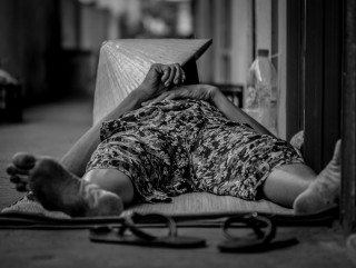 Sleep by Graeme Heckels Saigon Street Photography, Vietnam