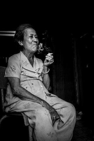 Smoke by Graeme Heckels Saigon Street Photography, Vietnam