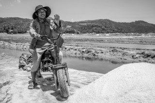 Salt Miner by Graeme Heckels Quy Nhon Street & Travel Photography, Vietnam