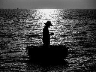 Fisherman by Graeme Heckels Quy Nhon Street & Travel Photography, Vietnam