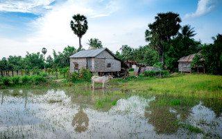 Siem Reap Landscape by Graeme Heckels Travel Photography