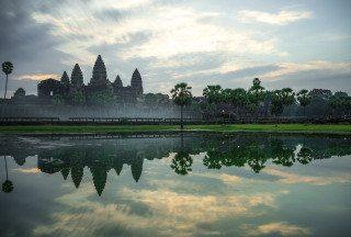 Angkor Wat at Sunrise by Graeme Heckels Travel Photography
