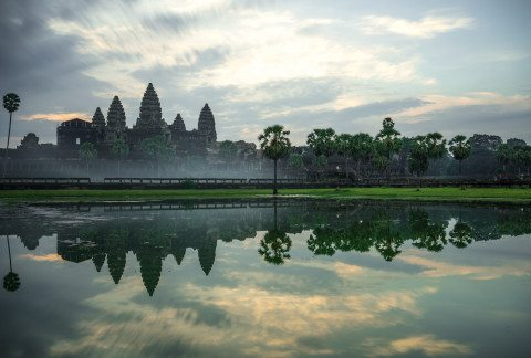 Angkor Wat at Sunrise by Graeme Heckels Travel Photography
