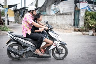 Happy bikers in Hua Hin by Graeme Heckels Travel & Street Photography