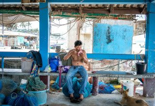 Man make over in Hua Hin by Graeme Heckels Travel & Street Photography