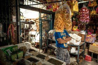 Pork Head in Bangkok by Graeme Heckels Travel & Street Photography