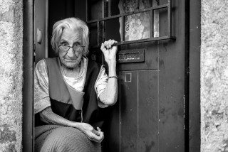 94, Portrait of a lady by Graeme Heckels Travel & Street Photography