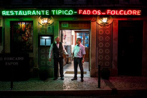 Bouncers in Lisbon by Graeme Heckels Travel & Street Photography