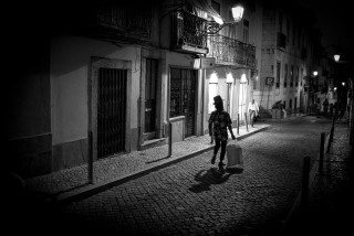 Top Hat in Lisbon by Graeme Heckels Travel & Street Photography