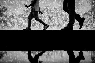 Father & Son by Graeme Heckels Travel & Street Photography, Lisbon
