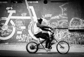 Easy Rider Bicycle in Lisbon by Graeme Heckels Travel & Street Photography