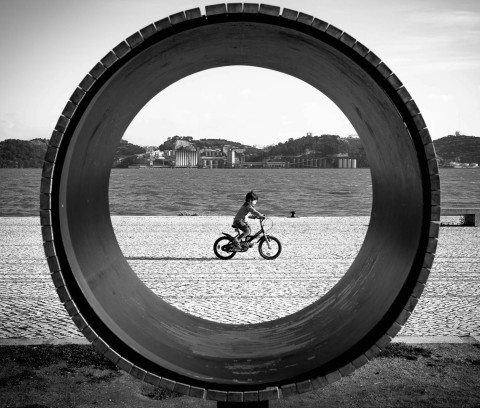 Peddle in Lisbon by Graeme Heckels Travel & Street Photography