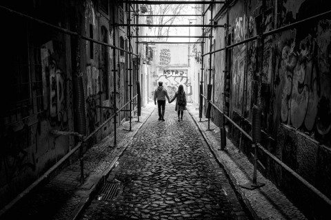 Urban Romance in Lisbon by Graeme Heckels Travel & Street Photography