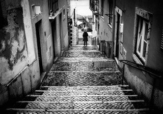 Rainy Days in Lisbon by Graeme Heckels Travel & Street Photography