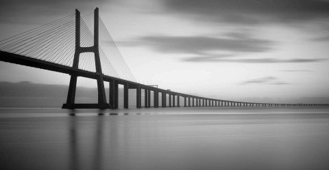 Vasco Da Gama Bridge Lisbon by Graeme Heckels Travel & Street Photography