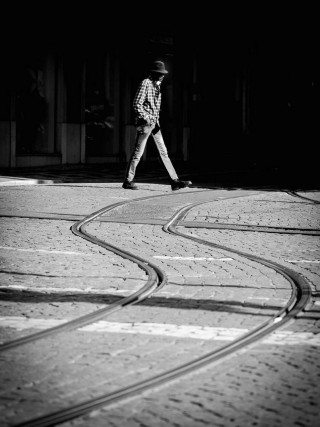 Walking the tramways in Lisbon by Graeme Heckels Travel & Street Photography