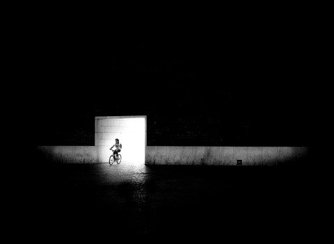 Into the dark by Graeme Heckels Travel & Street Photography, Lisbon