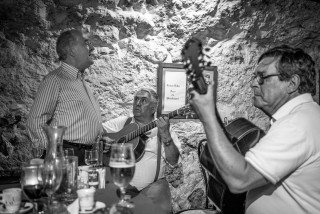 Fado Singing in Lisbon by Graeme Heckels Travel & Street Photography