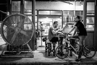 Industrial Talad Rod Fai Night Market in Bangkok by Graeme Heckels Street & Travel Photography