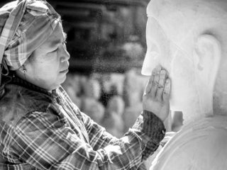 Marble Worker by Graeme Heckels_Mandalay Street and Travel Photography