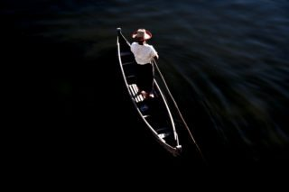 Solitude on water by Graeme Heckels_Mandalay Street and Travel Photography